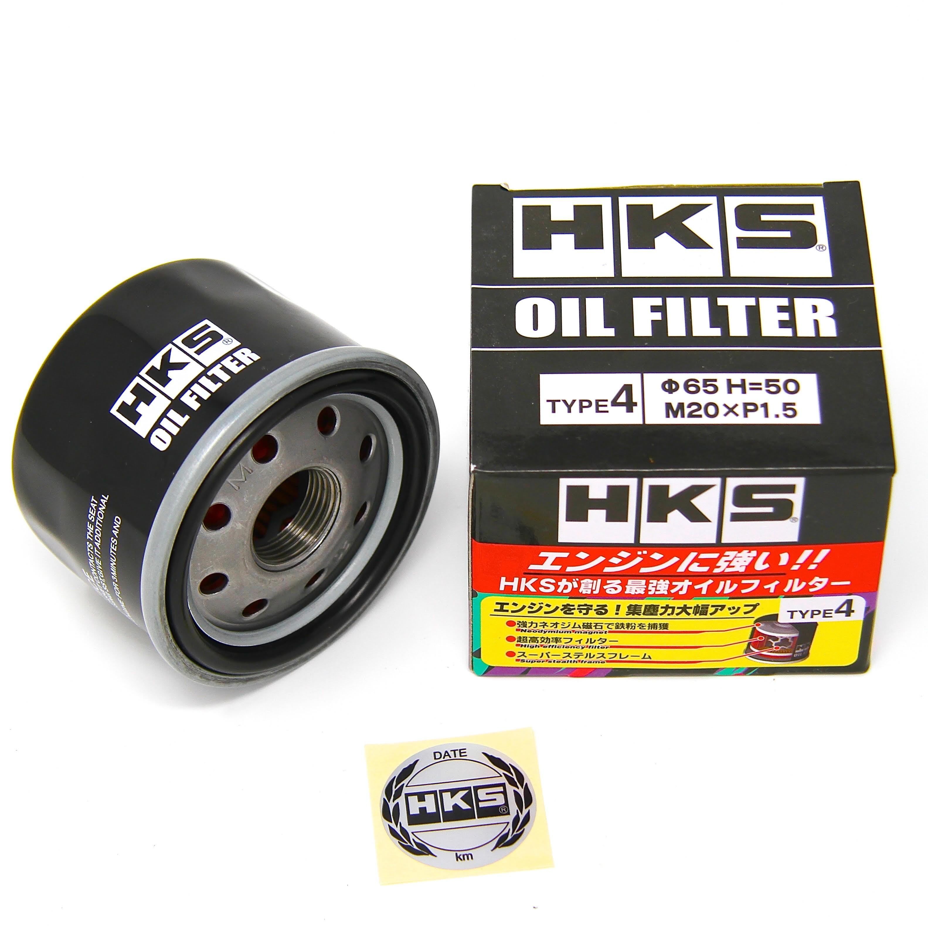 HKS Hybrid Sports Oil Filter - M20 X P1.5