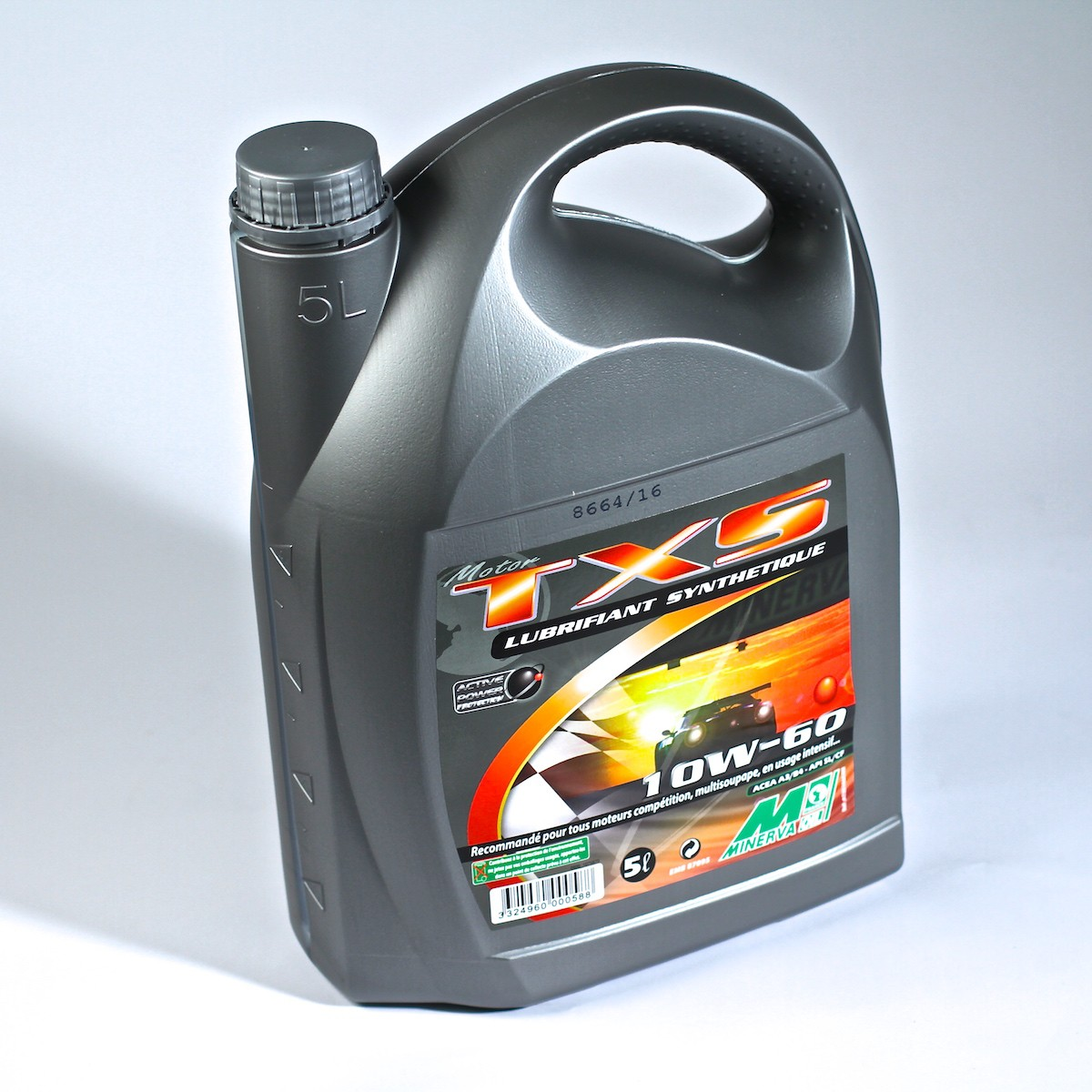 Minerva Racing Oil TXS 10W60 5L
