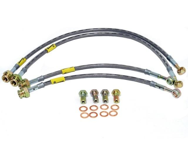 Goodridge Braided brakes lines for Subaru Impreza STi 02-07