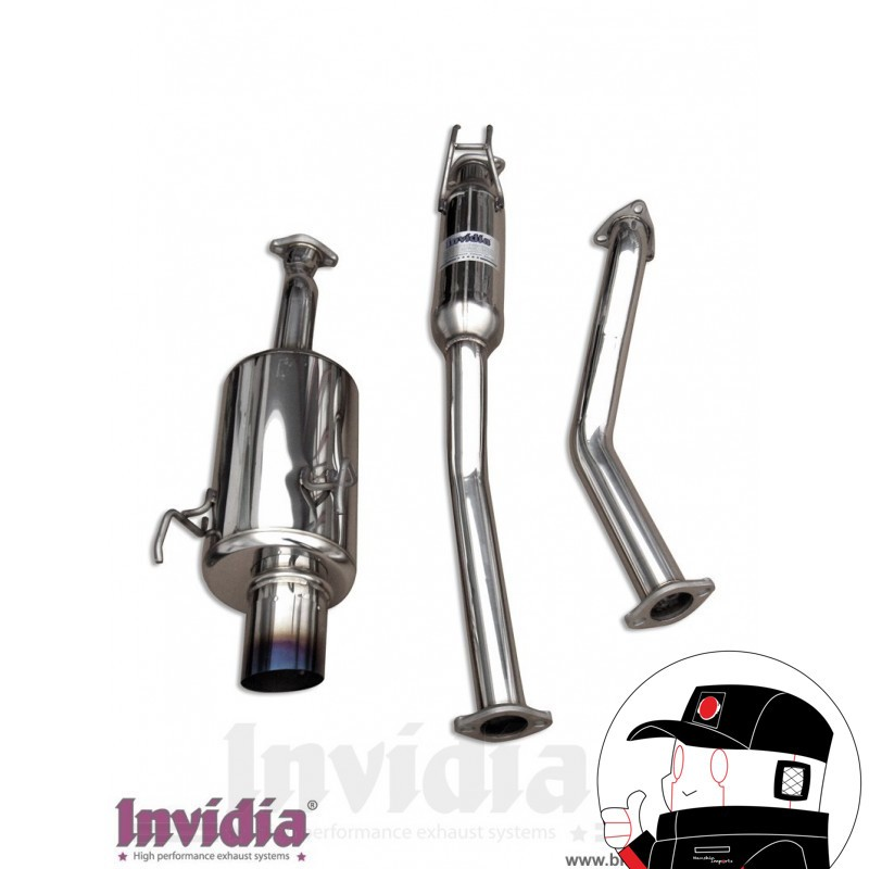 Invidia Catback Honda Civic EJ1 EJ2 G200