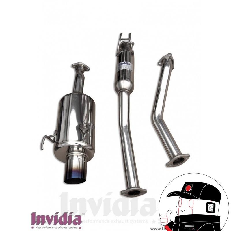 Invidia Catback Honda Civic CRX ( delsol ) EG2 G200