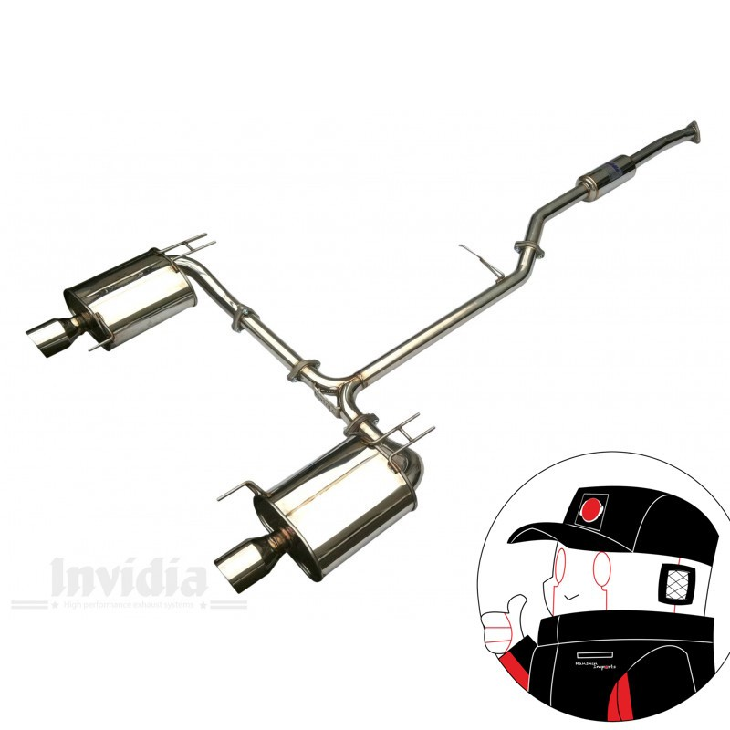 Invidia Catback Honda Accord CL 7 2.0 L Q300