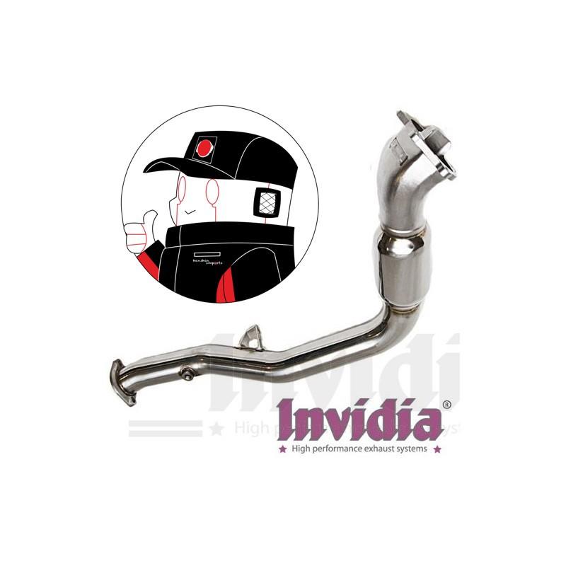 Invidia Down/Frontpipe + race cat Subaru Impreza WRX / STI 01-07