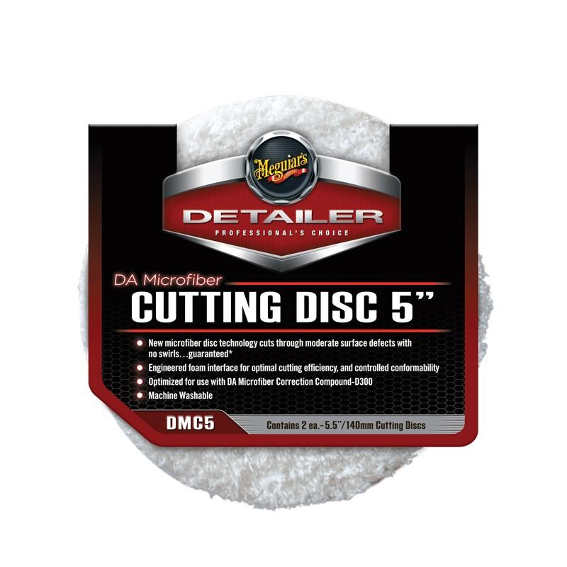 Meguiar's Microfiber Pad - Cutting Disc - 125 mm (2 pcs.)