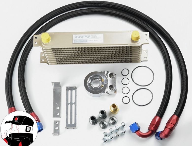 HPI Oil Cooler kit for Honda Civic EG and EK (Generic Photo)