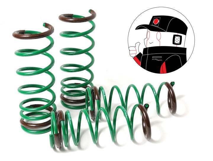 Tein Lowereing Springs: S-TECH SPRINGS Nissan 350Z