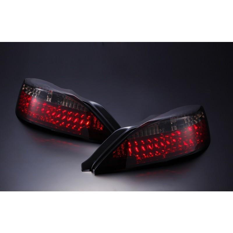 Nissan Silvia S14 LED Black Tail Lights - Set
