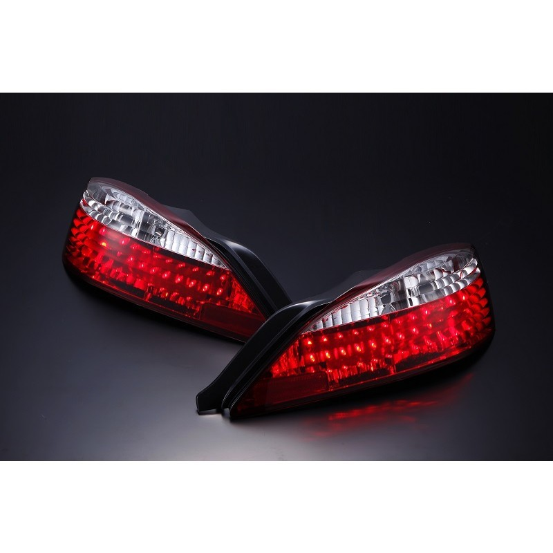 Nissan Silvia S15 LED Crystal Tail Lights - Pair