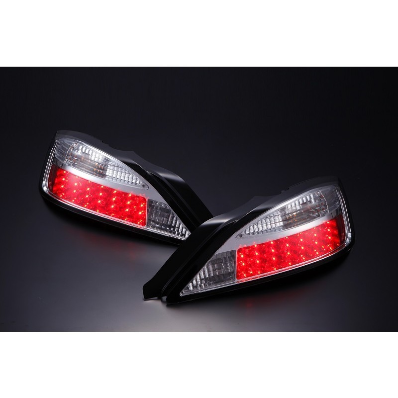 Nissan Silvia S15 LED Chrome Tail Lights - Pair