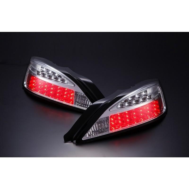 Nissan Silvia S15 LED Blinker Type Chrome Tail Lights - Pair