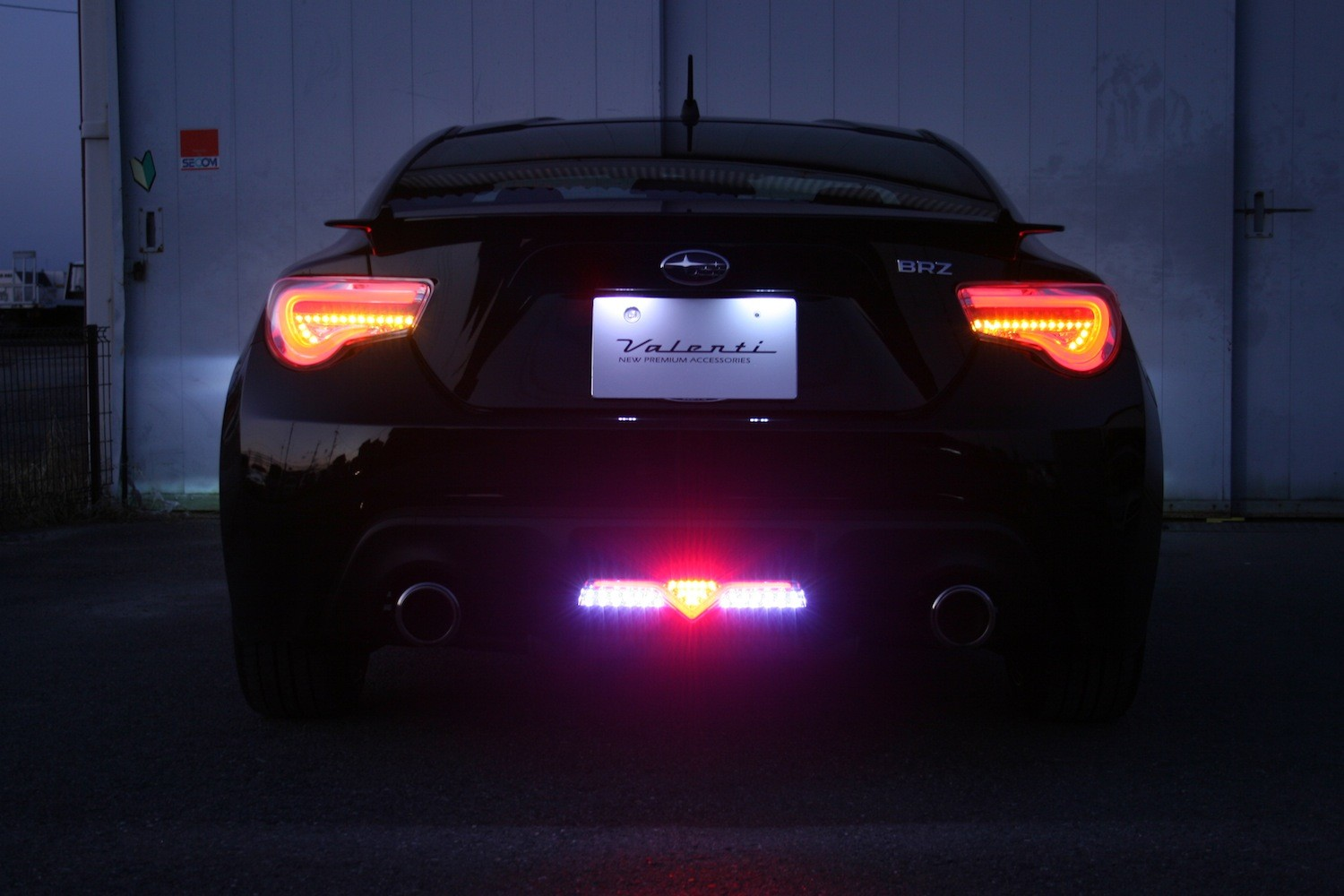 Valenti Jewel Led Back Fog Lamp Trad for GT86
