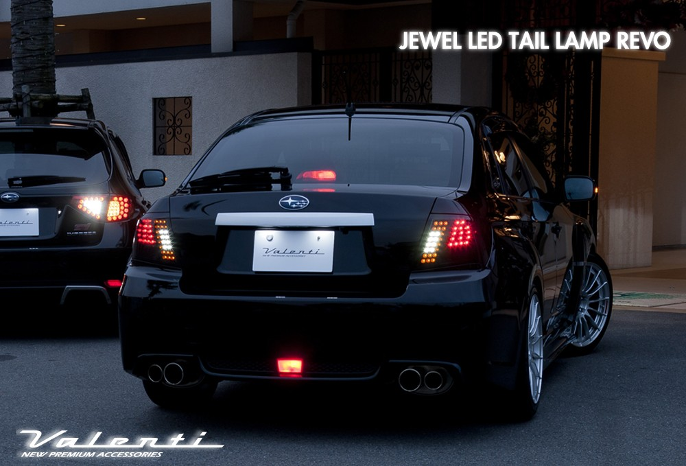 Valenti Jewel Led Tail Lamp Revo Trad for Subaru Impreza WRX Sti / Anesis