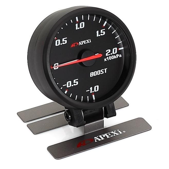 Apexi Elli System Meters B Mechanical Boost (black face, black bezel)