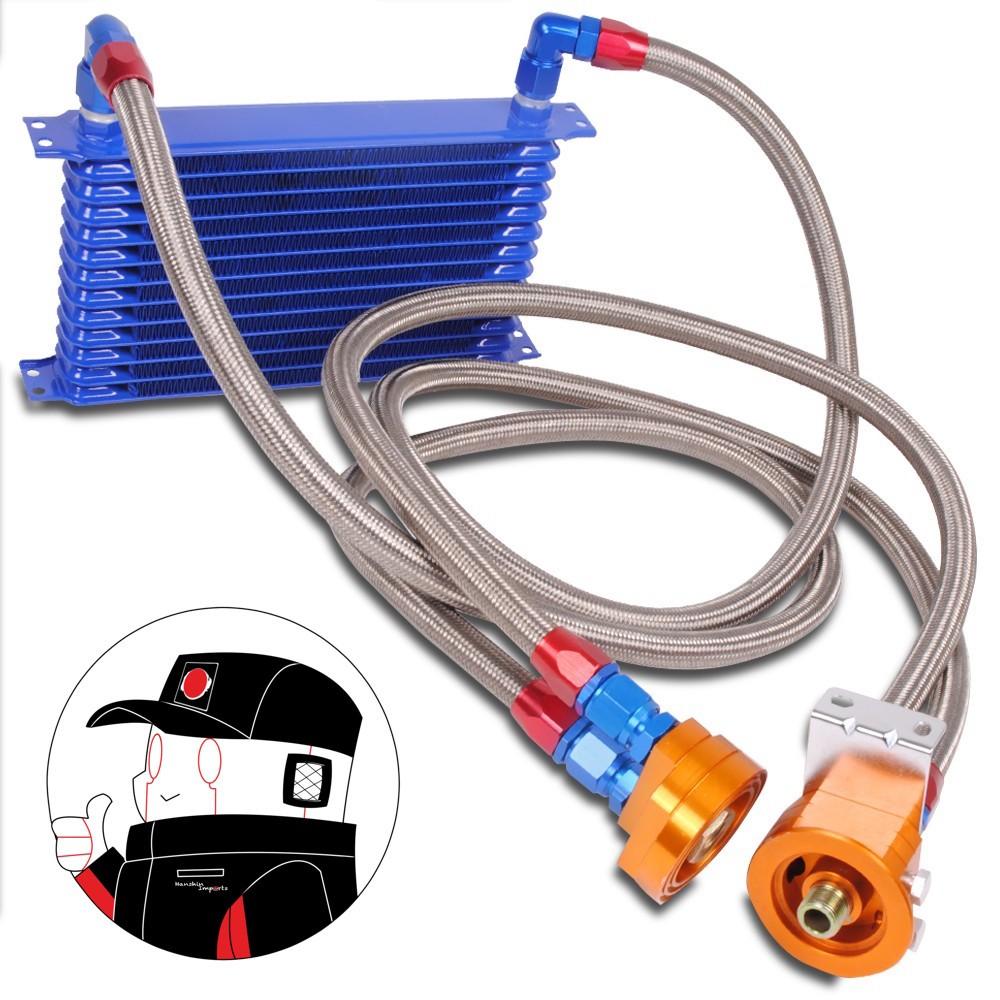 Hanshin Oil Cooler and Oil filter Relocation Kit