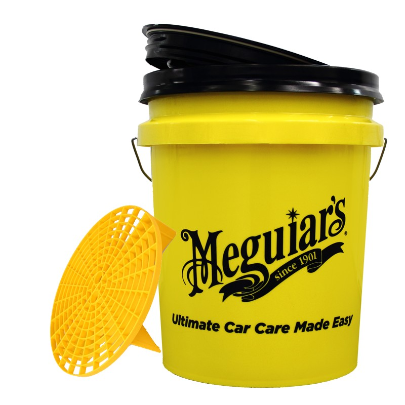 Meguiar's Washing bucket with Grit Guard and lid