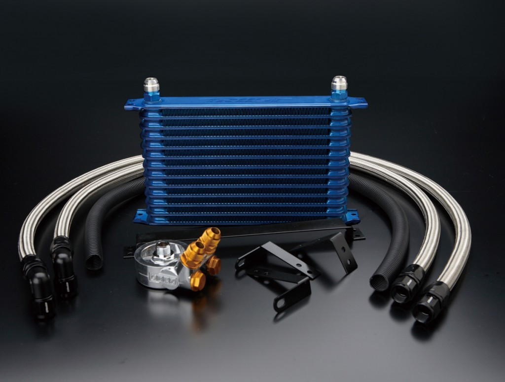 Greddy Twin 13 row Oil Cooler Kit For Nissan 370Z