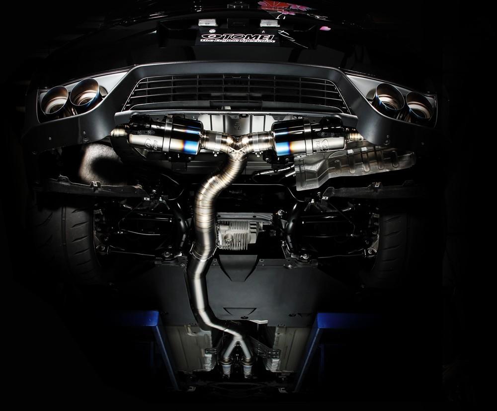 TOMEI Ti RACING TITANIUM MUFFLER for R35 GTR