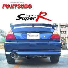 Fujitsubo Legalis Super R Mitsubishi Lancer EVO 4-5-6