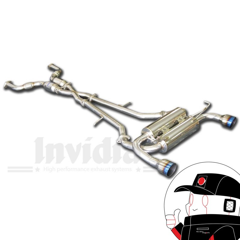 Invidia Catback Nissan 370Z Z34 Q300