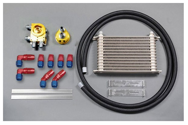HPI Universal Oil Cooler and oil filter relocalisation kit 10 Row