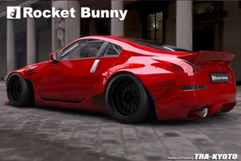 Rocket Bunny V2 Aero - Nissan 350Z (Z33)