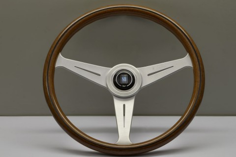 Nardi Steering Wheel Wood ND Classic with polished Spokes 360 mm 5062.36.2000