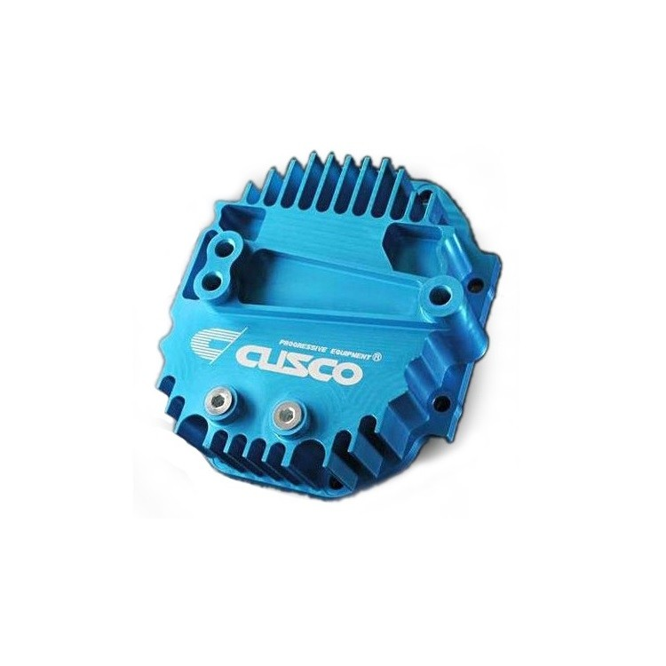 Cusco Size Up Differential Cover for Subaru R180 in Blue
