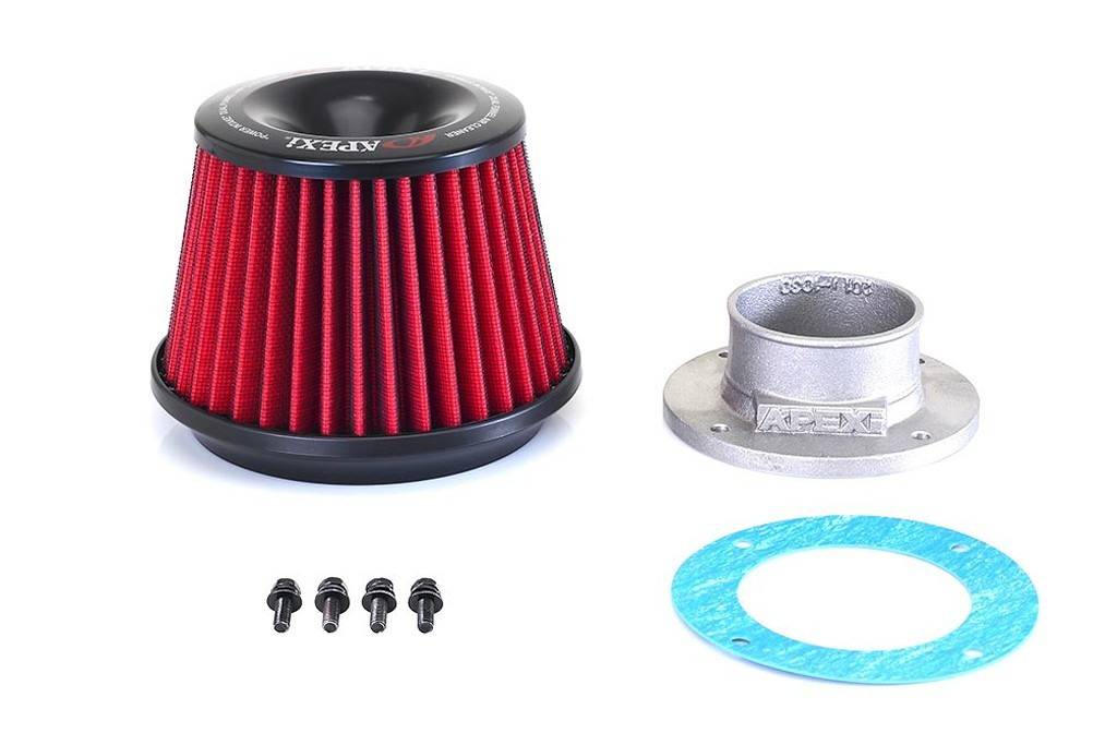Apexi Power Intake Kit Universal Filter and 80mm Diameter Flange